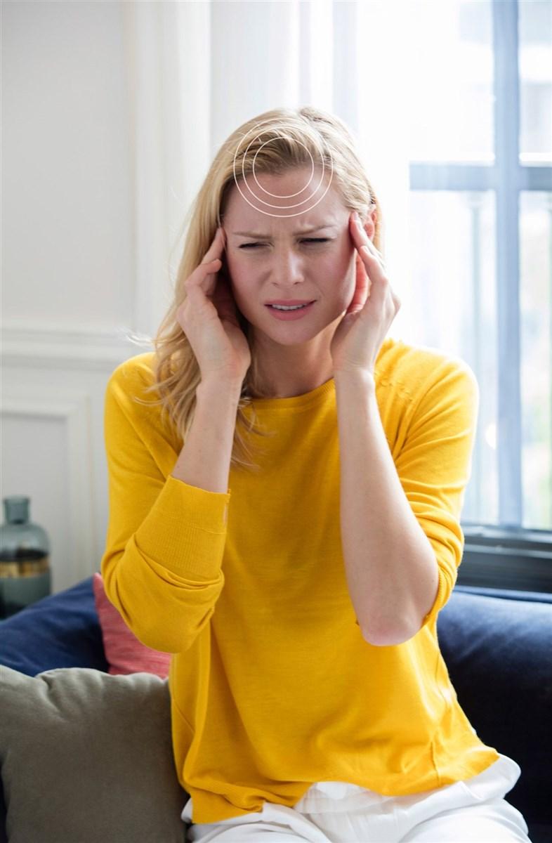 dolor de cabeza y hormigueo en la mitad de la cara