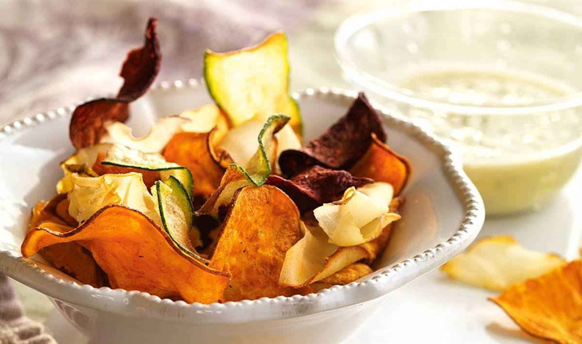Beautiful Chips De Boniato Al Horno