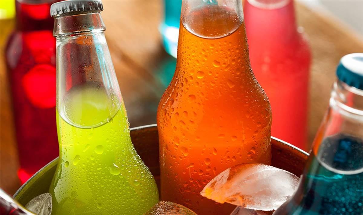 refrescos. Bebidas azucaradas