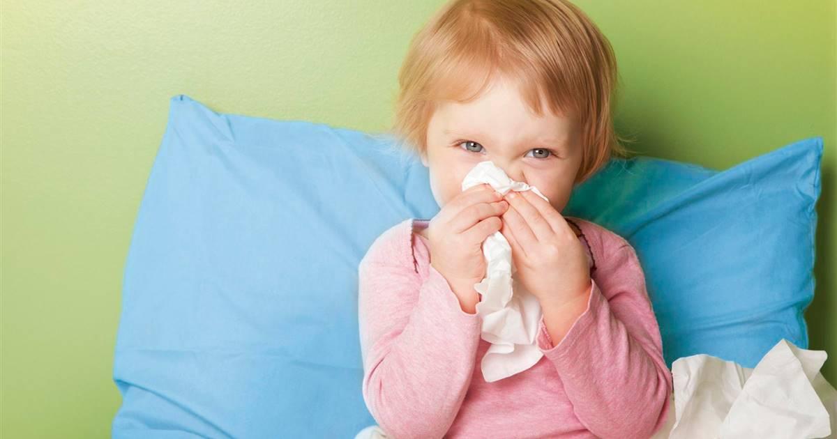 Como curar el resfriado en ninos rapido